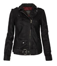 Valley Biker Jacket, Women, Leather, AllSaints Spitalfields