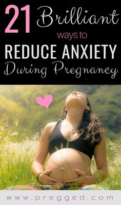 Is anxiety ruining your pregnancy? Overthinking doing your brain in? Anxiety is a common pregnancy symptom and can be espeically difficult for those with existing anxiety conditions. Here are 21 awesome ways to deal with anxiety and help you have the preg All About Pregnancy, First Pregnancy, Pregnancy Tips, Symptoms Pregnancy, Pregnancy Nausea, Pregnancy Cravings, Pregnancy Outfits, Baby Bikini, Pregnancy