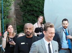 Tom Hiddleston arriving to the 51st Academy Of Country Music Awards 2016. Gif-set: http://maryxglz.tumblr.com/post/167405991847/x