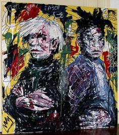 ღღ Andy Warhol et Basquiat ✋ARTIST ✋JEAN MICHELLE BASQUIAT Pins Like This At FOSTERGINGER @ Pinterest✋
