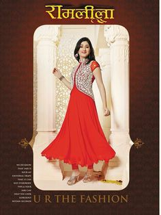 Indian+ethnic+bollywood+Anarkali+/Frock+by+AashishCollections,+$64.99