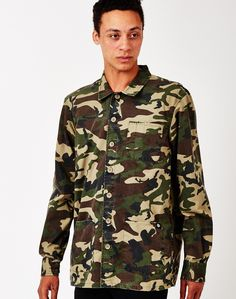 Camo Shirts from The Idle Man | Shop now | #StyleMadeEasy