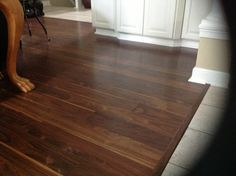 Veresque Burnished Walnut Laminate Flooring - Photo compliments Scott B.