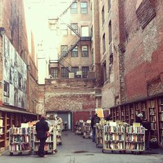Brattle Book shop - one of my favorite places to go on my days off!