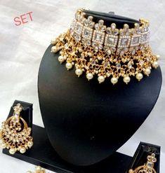 Jewellery Sets online, Buy Jewellery online, Women's Fashion Jewellery Online, Jewellery, Jewellery Wholesaler, Jewellery Shop, Indian Jewellery, Bridal Necklace Set, Bridal Jewelry, Gold Jewelry, Black Choker Necklace, Blue Choker, Women's Jewelry Sets, Women Jewelry, Jewelry Shop, Bollywood Fashion