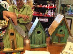 Hand made birdhouses! Beautifully made