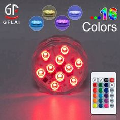 Free Shipping Factory Vendor 100 Led Dual Super Purple Submersible Wedding Party Led Lights Centerpieces Cheap Sales 50% Lights & Lighting