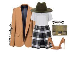 Outfits With Hats, Divas, Polyvore, Fashion, Moda, Fashion Styles, Fashion Illustrations