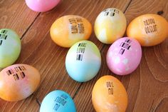 Easter hunt eggs with free downloads | And We Play