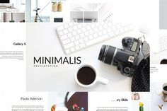 Minimalis Multipurpose #Powerpoint by onestudio on @creativemarket