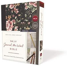 NKJV, Journal the Word Bible, Cloth over Board, Gray Floral, Red Letter, Comfort Print: Reflect, Journal, or Create Art Next to Your Favorite Verses: Amazon.de: Thomas Nelson: Bücher The Words, Blessed, Floral Letters, Online Purchase, Verses, Reflection, Bible, Journal, Lettering
