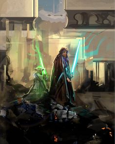 Consumed by Star Wars Feelings — Obi-Wan Kenobi Star Wars Fan Art, Star Wars Concept Art, Star Wars Jedi, Star Trek, Star Citizen, Obi Wan, Star Wars Painting, Images Star Wars, Star Wars Facts