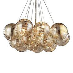 Cielo Chandelier by ELK Lighting at Lumens.com Nelson Bubble Lamp, Large Chandeliers, Modern Fan, Slide Design, Elk Lighting, Glass Globe, Oil Rubbed Bronze, Antique Gold