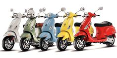 New Vespa Scooter Models in India