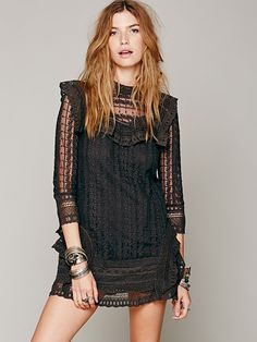Free People Victor Victorian Dress, £168.00