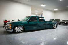 Clean Chevy dually..