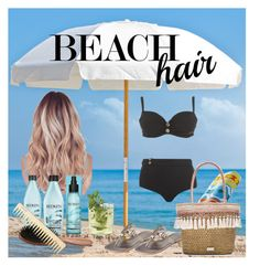 """""""Beach Hair; Don't Care"""" by modgirl71 on Polyvore featuring beauty, Frankford, Tory Burch, Redken, Curvy Kate, Caffé, Phyto and beachhair"""