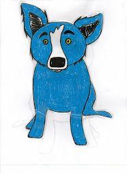 BlueDogFun: How to Draw Blue Dog