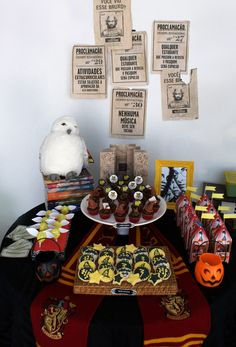 Harry Potter party - would be fun for Steven