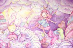 kawaii lolita art - Buscar con Google