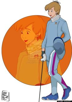 """Disney Characters Imagined At College Arthur, """"The Sword in the Stone"""""""