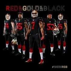 Red Gold & Black!!
