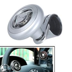 Electric Vehicle Parts Special Section Car Steering Wheel Spinner Knob Auxiliary Booster Aid Control Handle Grip Black Relieving Rheumatism