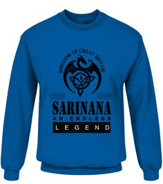 THE LEGEND OF THE ' SARINANA '  Funny Name Starting with S T-shirt, Best Name Starting with S T-shirt, t-shirt for men, t-shirt for kids, t-shirt for women, fashion for men, fashion for women