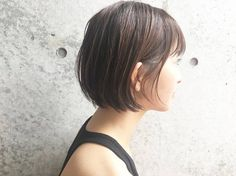 Pin on ヘアー Hair Reference, Girl Short Hair, How To Make Hair, Short Cuts, Hair Designs, Hair Looks, Bob Hairstyles, Hair Inspiration, My Hair