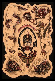 Old school tattoo www.tattoodefender.com #Oldschool #tattoo #tatuaggio #tattooart #tattooartist #tatuaggi #tattooidea #ink #inked