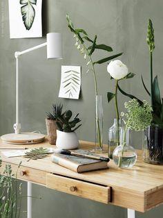 Interior Trends - green walls