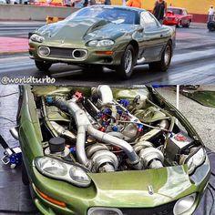 Twin Turbos Camaro