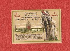 Germany Notgeld 1 mark 1921 Schleswig Holstein Westerland Sylt #27