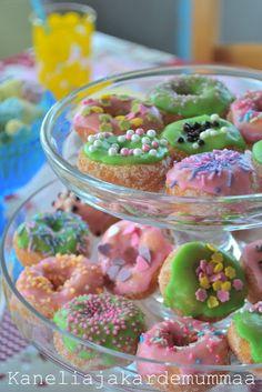 Koristellut donitsit