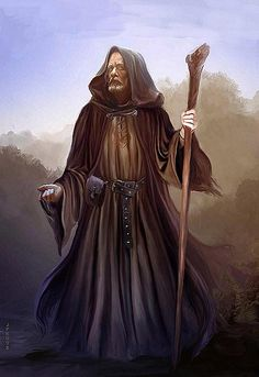 wizard wanderer - by Jan Patrik Krasny | Featured Artist on the Fantasy Gallery