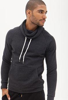Marled Knit Zippered Hoodie #21Men | Vogue | Guys | Pinterest ...