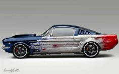 Blue Fastback - Foose Wheels by lovelife81 on DeviantArt
