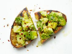 Grilled Avocado Toast by bonappetit #Avocado_Toast #bonappetit