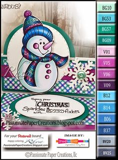 Passionate Paper Creations: Stampendous Pen Pattern Christmas Day 3