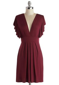 Plum Role Dress. This item was picked by you in our Be the Buyer Program and will be sold exclusively online at ModCloth! #purple #modcloth