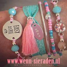 "Ibiza armbandjes! (Dutch for ""bracelets"") | http://www.wenn-sieraden.nl/armbanden/"