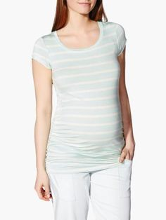 Striped Maternity T-Shirt available at #ThymeMaternity