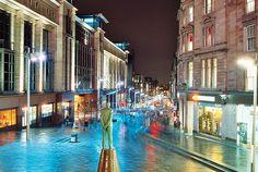 Glasgow: Buchanan street.