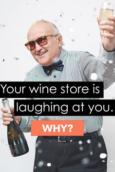 Your wine store is laughing at you! Because when you buy wine in a store, about 70% of what you pay goes to the retailer and distributor. Click on the image to find out how to save some cash!
