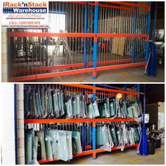 Storage solution for storing Windscreens. Pallet Storage, Storage Rack, Pallet Racking, Racking System, Vertical Storage, Can Design, Hair Dos, Storage Solutions, Shelving