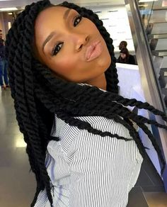 Brandy #box #braids … | Marley Twists + Havana Twists | Pinterest ...