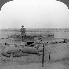 "WW1, c 1915. ""A Unique Sand Blockhouse, South West Africa"" ––AllPosters.co.uk"