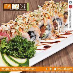 #Repost @comidapanama with @repostapp.  Disfruta de la calidad y sabor de @tatakipty están ubicados en plaza 61 calle 61 de Obarrio ubicanos por Waze.  Un lugar para descubrir saborear y disfrutar  #TatakiMarket #food #drink #sushi #cócteles #experienciatatakimarket #sabores #sushi #tataki #fusion #panama #pty #ptyfood by tatakipty