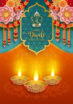 Illustration about Diwali, Deepavali or Dipavali the festival of lights india with gold diya patterned and crystals on paper color Background. Illustration of diya, ceremony, 2019 - 153058520 Happy Diwali Images Hd, Happy Diwali Pictures, Diwali Greetings, Diwali Wishes, Shubh Diwali, Diwali Deepavali, Happy Dhanteras Wishes, Diwali Poster, Diwali Wallpaper