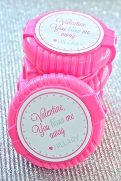 You Blow Me Away- Bubble Gum Tape with free printable